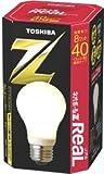 東芝 ネオボールZリアル 電球形蛍光ランプ 電球40ワットタイプ 電球色 EFA10EL8-R 口金直径26mm