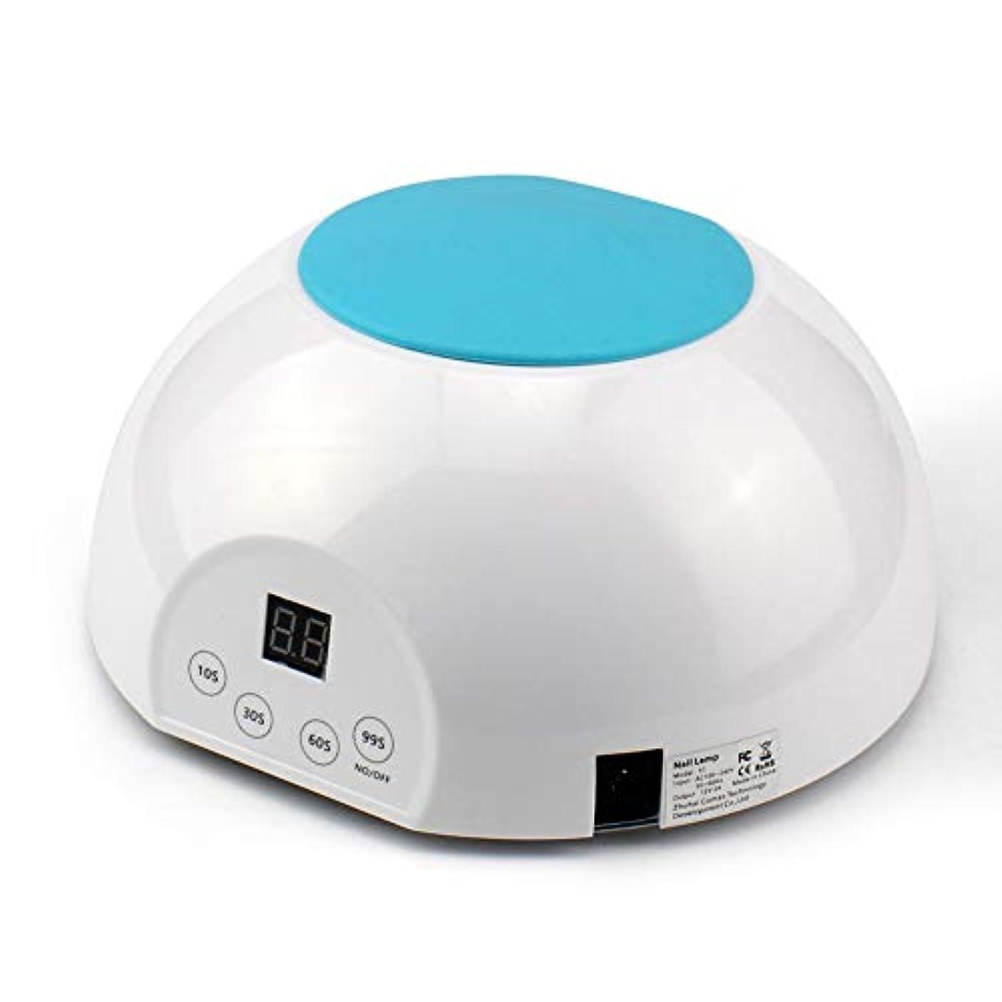 半導体休日満員ネイル光線療法機36Wデジタルディスプレイ21 UV/LEDランプビーズネイルドライヤー