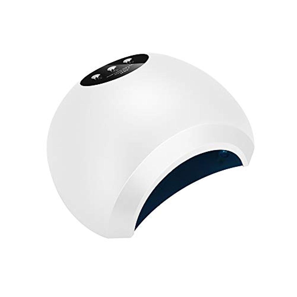テレビを見るドリル警報ホーム初心者ネイルスマート光療法機LEDディスプレイインテリジェント誘導デュアル光源速乾性光線療法ランプネイルライト