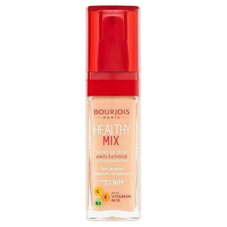 効率的スリップに付ける[Bourjois ] ブルジョワヘルシーミックス基盤52バニラ - Bourjois Healthy Mix Foundation 52 Vanilla [並行輸入品]