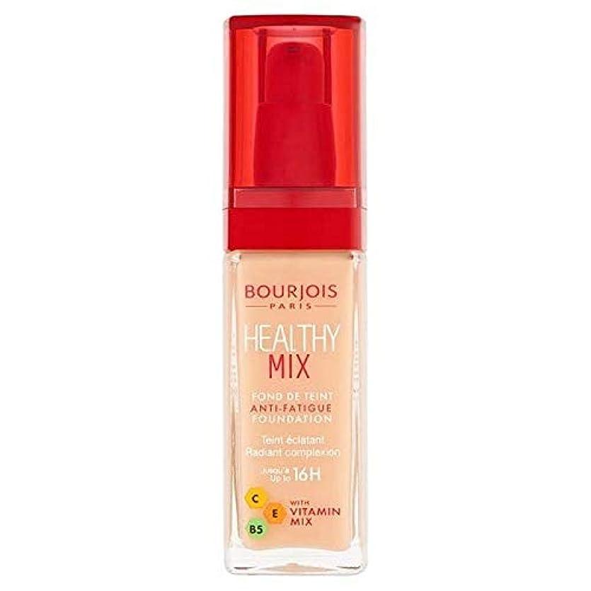 近代化する乱雑な砂利[Bourjois ] ブルジョワヘルシーミックス基盤52バニラ - Bourjois Healthy Mix Foundation 52 Vanilla [並行輸入品]