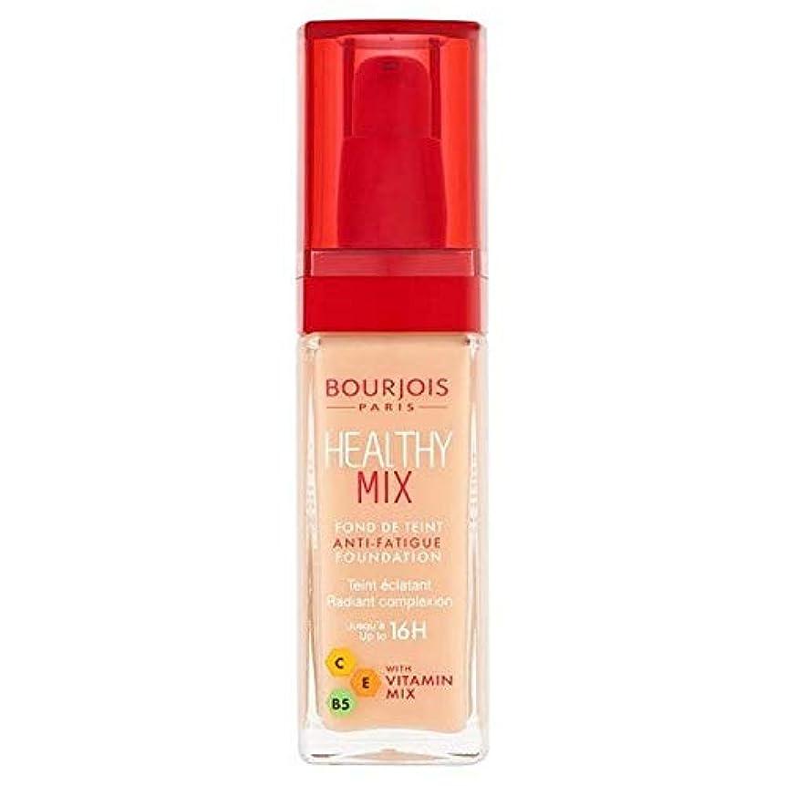 気体のサスティーン開梱[Bourjois ] ブルジョワヘルシーミックス基盤52バニラ - Bourjois Healthy Mix Foundation 52 Vanilla [並行輸入品]