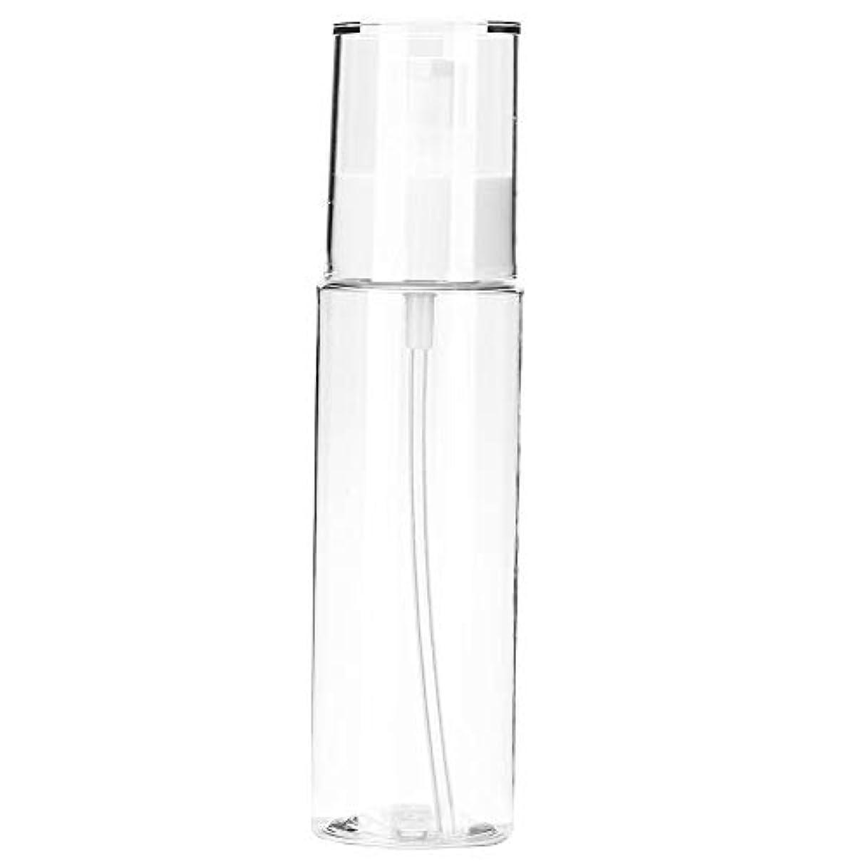 できない巻き取り読みやすさ小分けボトル 透明 空ローションボトルポータブルシャンプートナー化粧品収納ボトル(120m)