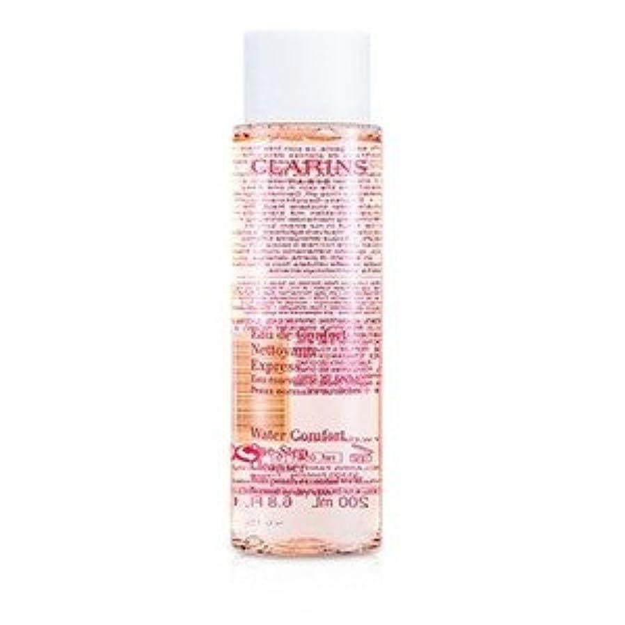 早めるつぶす抜け目がないCLARINS(クラランス) ウォーター コンフォート ワンステップ クレンザー w/ Peach Essential Water(For Normal or Dry Skin) 200ml/6.8oz [並行輸入品]