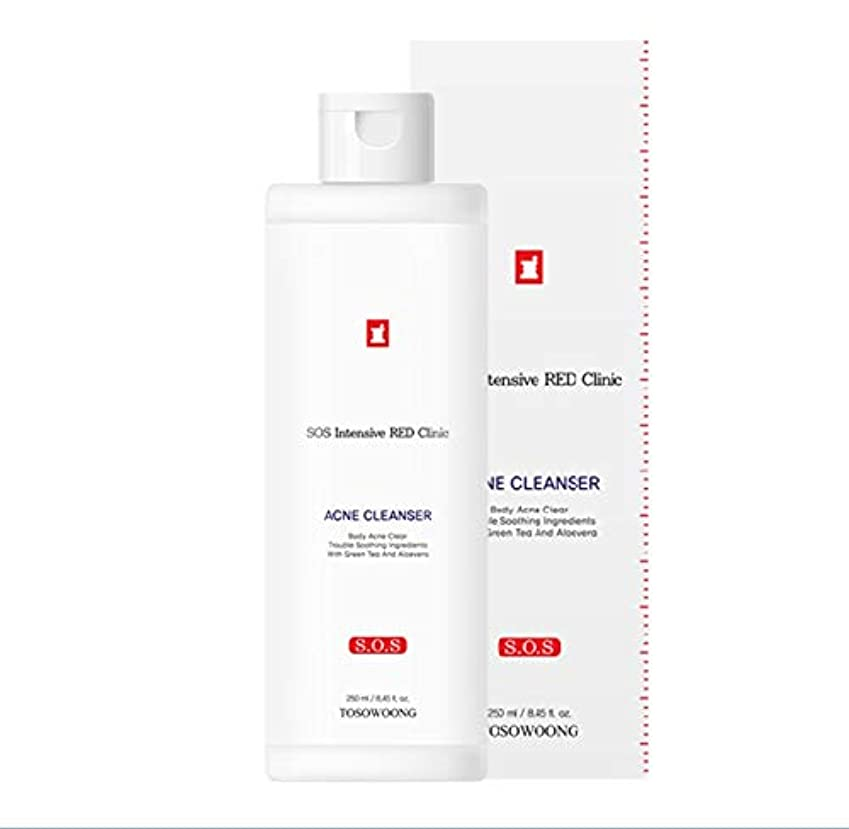 [TOSOWOONG] トソウンレッドクリニックアクネボディクレンザー 250ml / TOSOWOONG ACNE BODY CLEANSER 250ml / SOOTHING NATURAL RECOVER MOISTURE...
