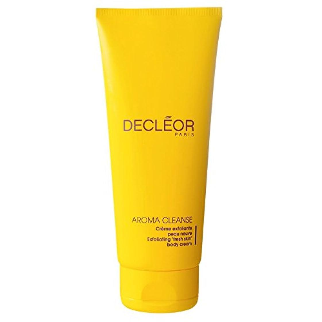 と組む子猫小道具[Decl?or ] デクレオール角質除去ボディクリーム200ミリリットル - Decl?or Exfoliating Body Cream 200ml [並行輸入品]