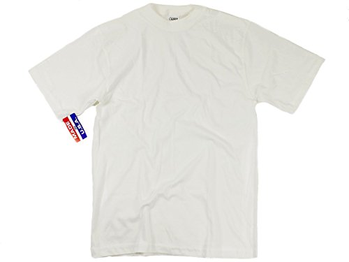 キャンバー CAMBER 701 ファイネスト 半袖クルーTシャツ ホワイト XL