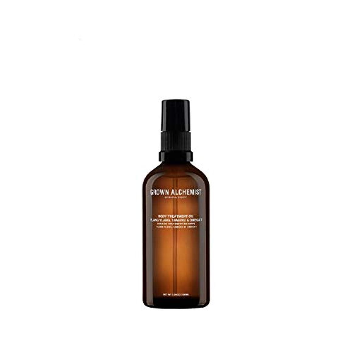 散る飲み込む均等にGrown Alchemist Body Treatment Oil - Ylang Ylang, Tamanu & Omega 7 100ml/3.34oz並行輸入品