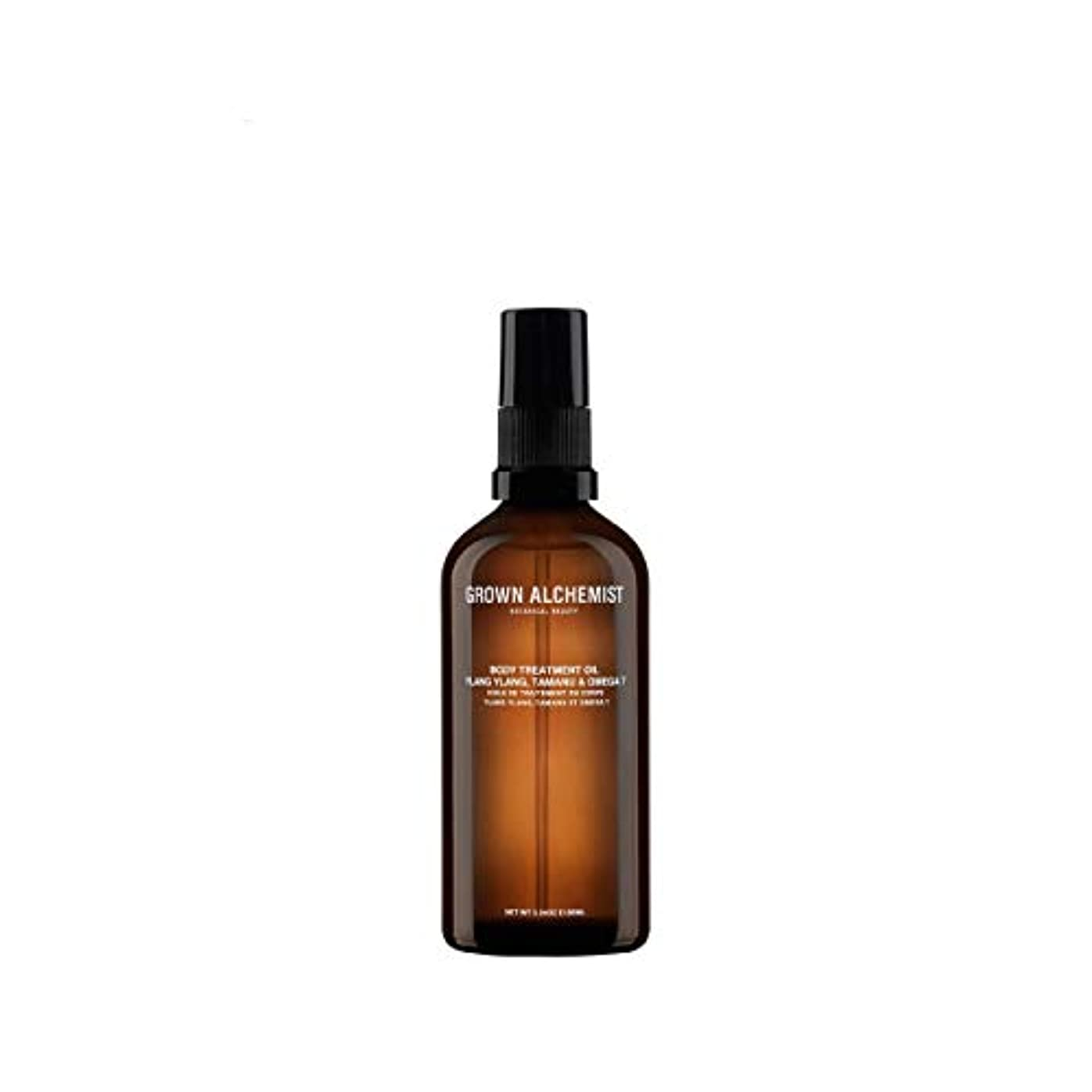 アプローチ枯渇する宅配便Grown Alchemist Body Treatment Oil - Ylang Ylang, Tamanu & Omega 7 100ml/3.34oz並行輸入品