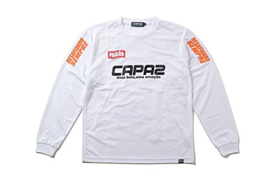 ドーム寛大な保持CAPAZ(カパーズ) プラクティスロングTシャツ CA120304