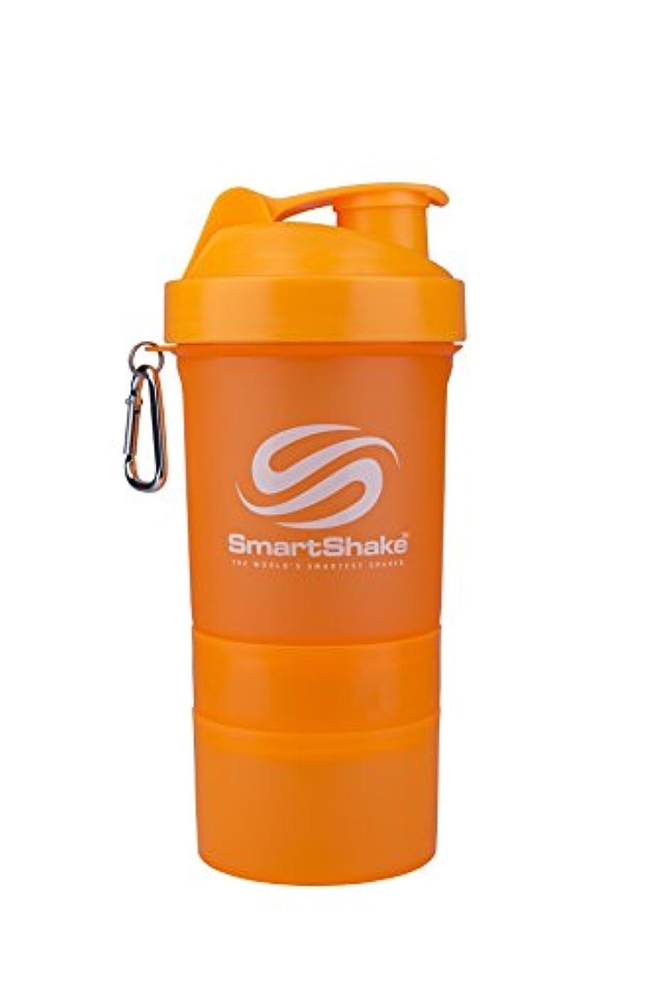 四半期牧師活気づけるSmartShake(スマートシェイク) プロテインシェイカー SmartShake NEON Orange