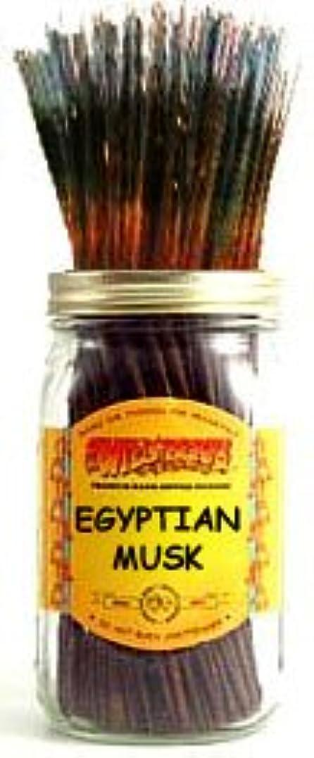 洞察力不道徳解決するEgyptian Musk – 100ワイルドベリーIncense Sticks
