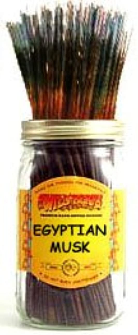賞賛コーンウォール孤児Egyptian Musk – 100ワイルドベリーIncense Sticks