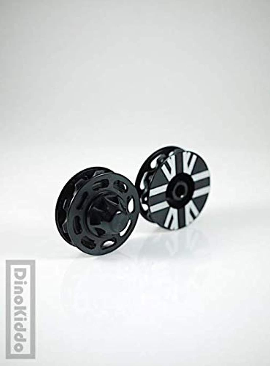 一回運動するどれかBlack Light Weight Aluminum Easy Pulleys (Wheels) for Brompton Folding Bike