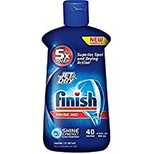 Finish Jet Dry Finish Jet Dry Rinse Aid, Dishwasher Rinse Agent, 4.22 Ounce by Finish Jet Dry