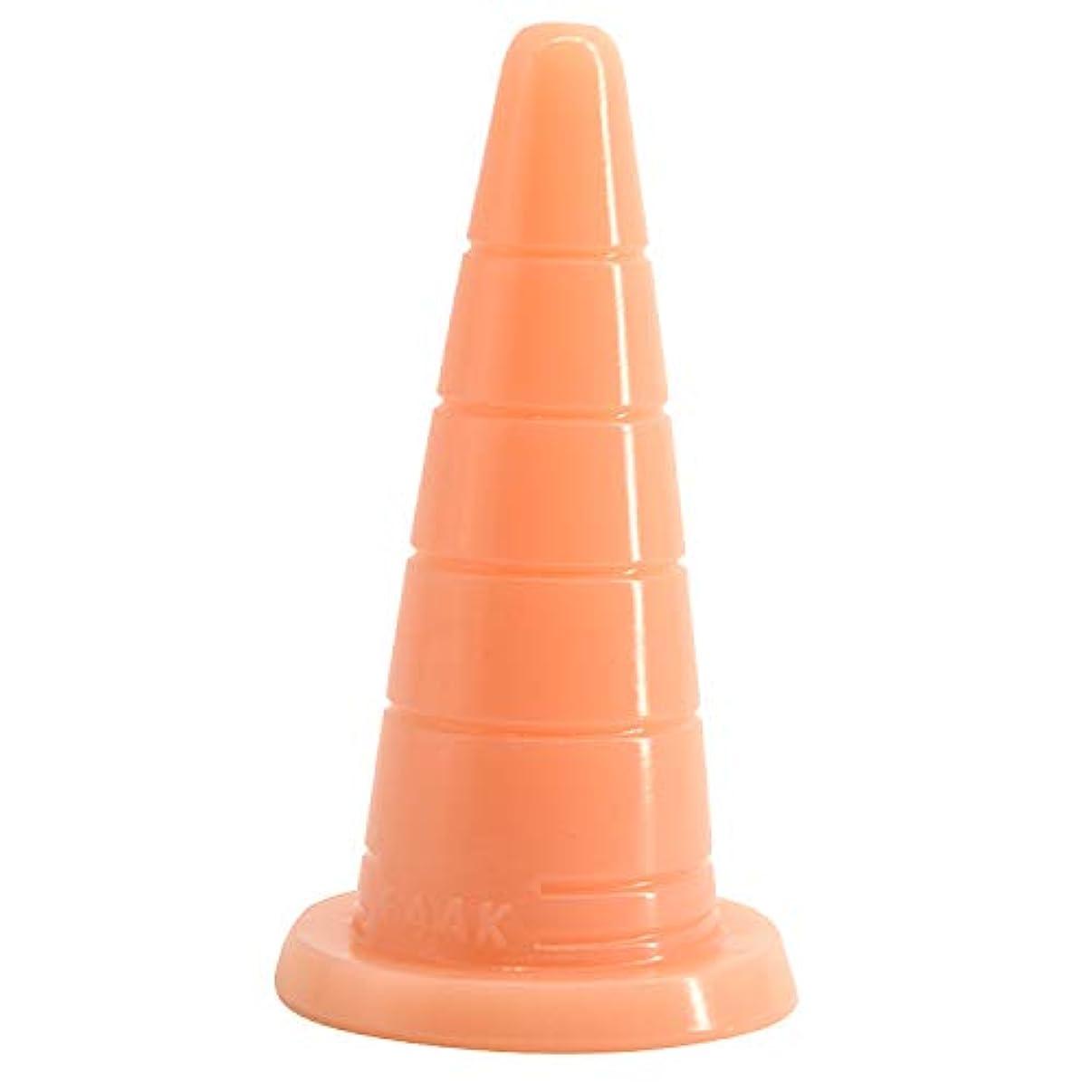 忌避剤カプラーランプディルド、特大アナルプラグ大人の女性smバックコート刺激オーガズム用品セクシーなマッサージのおもちゃ18.2センチ