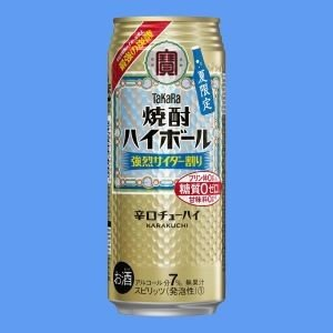 「焼酎ハイボール 強烈サイダー割り」3