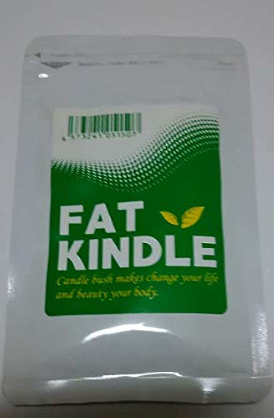 仕方巻き戻すリラックスファットキンドル FAT KINDLE 90粒 キャンドルブッシュ ダイエットサポート