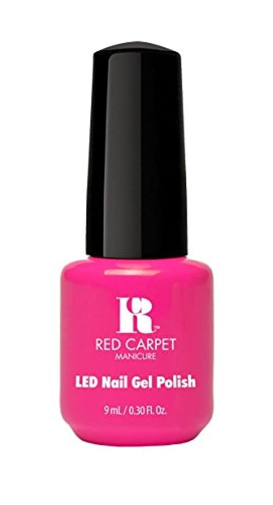 起点金曜日予算Red Carpet Manicure - LED Nail Gel Polish - Fuchsia Dreams - 0.3oz/9ml