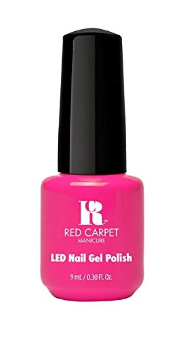 平手打ちアラーム株式Red Carpet Manicure - LED Nail Gel Polish - Fuchsia Dreams - 0.3oz/9ml