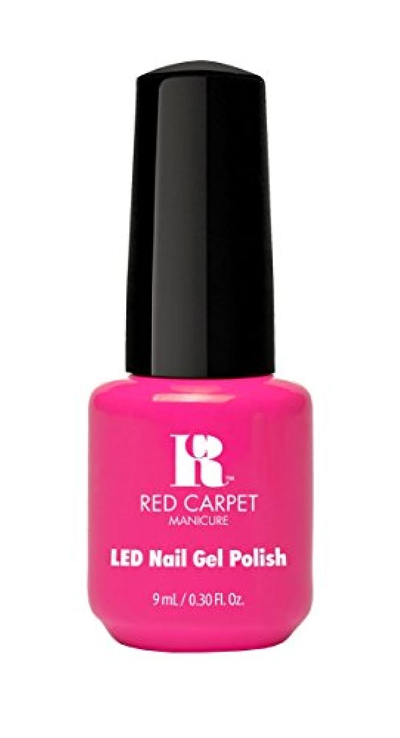 支援予知さまようRed Carpet Manicure - LED Nail Gel Polish - Fuchsia Dreams - 0.3oz/9ml