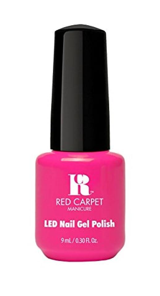 奨学金メロディアス愛情Red Carpet Manicure - LED Nail Gel Polish - Fuchsia Dreams - 0.3oz/9ml