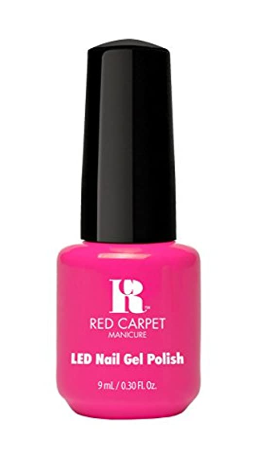 宣言受取人トロリーRed Carpet Manicure - LED Nail Gel Polish - Fuchsia Dreams - 0.3oz/9ml
