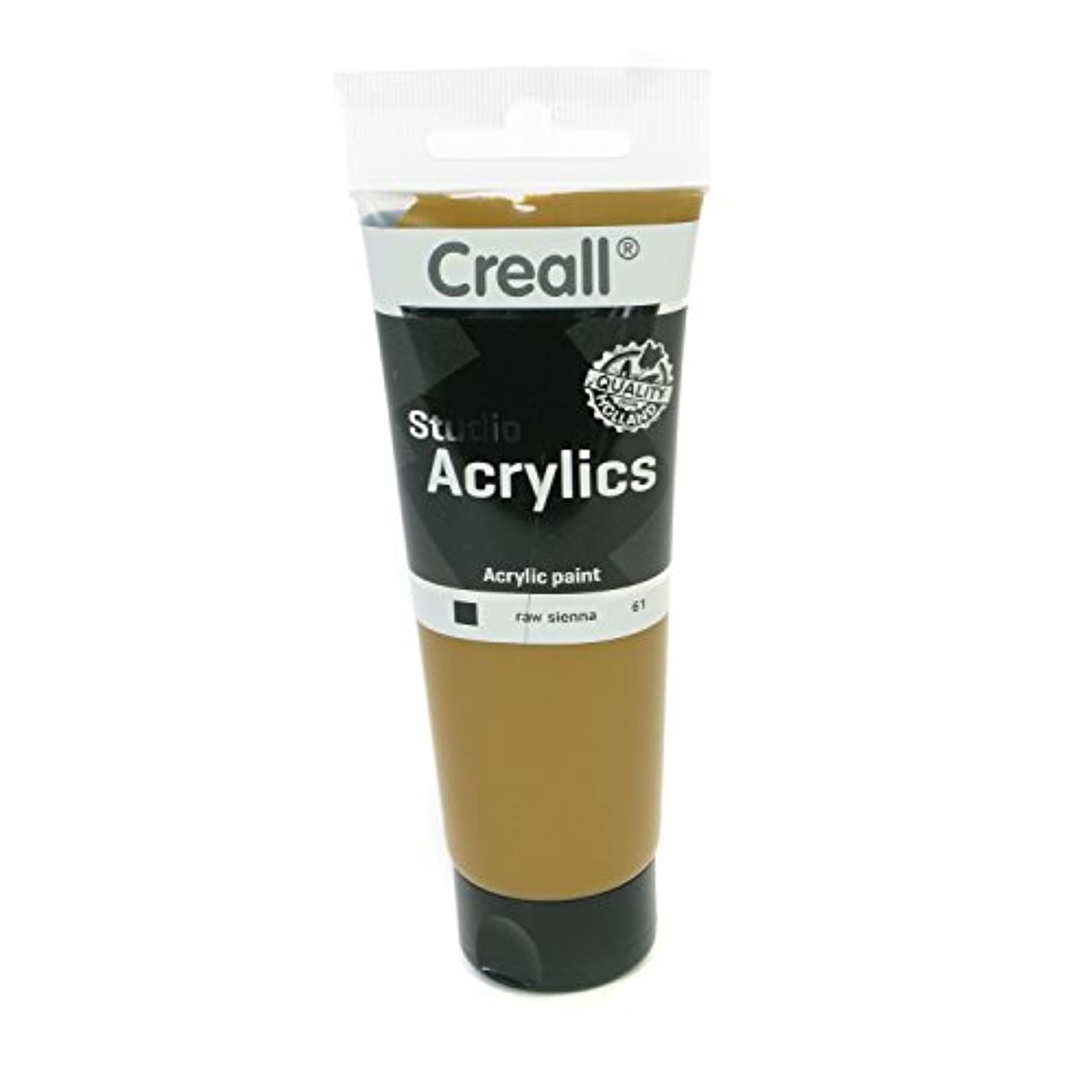 American Educational Products A-33761 Creall-Studio-Acrylics Tube 120Ml 61 Raw Sienna