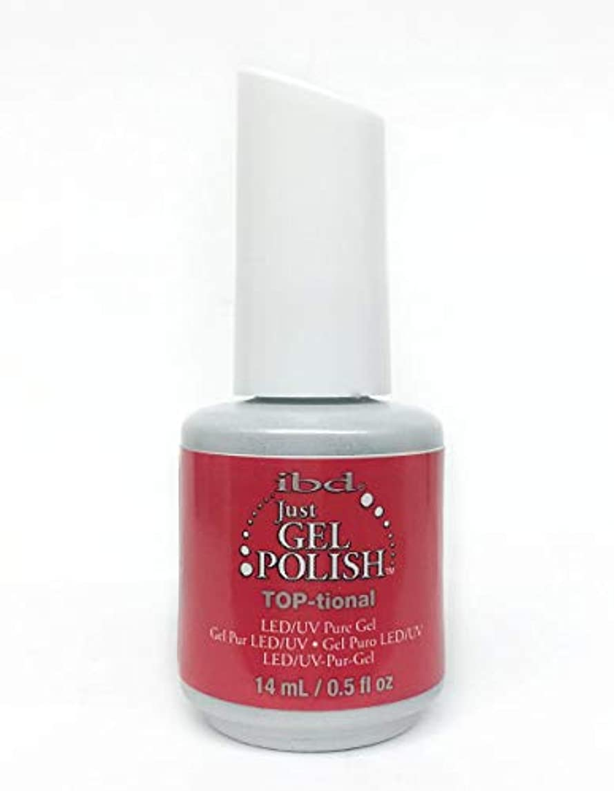 める親愛な汚れるibd Just Gel Nail Polish - TOP-tional - 14ml / 0.5oz