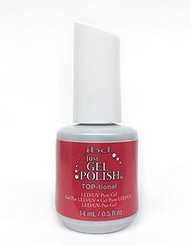 懐疑的アトミック消化ibd Just Gel Nail Polish - TOP-tional - 14ml / 0.5oz
