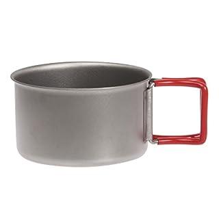 エバニュー(EVERNEW) チタンカップ400FD RED EBY265R