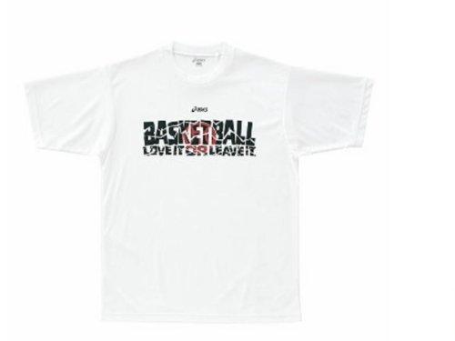 asicsアシックス バスケTシャツ XOサイズ ホワイト ...