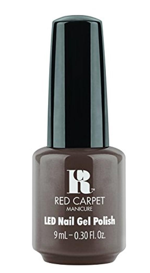 衝動四狭いRed Carpet Manicure - LED Nail Gel Polish - Expresso Yourself - 0.3oz / 9ml