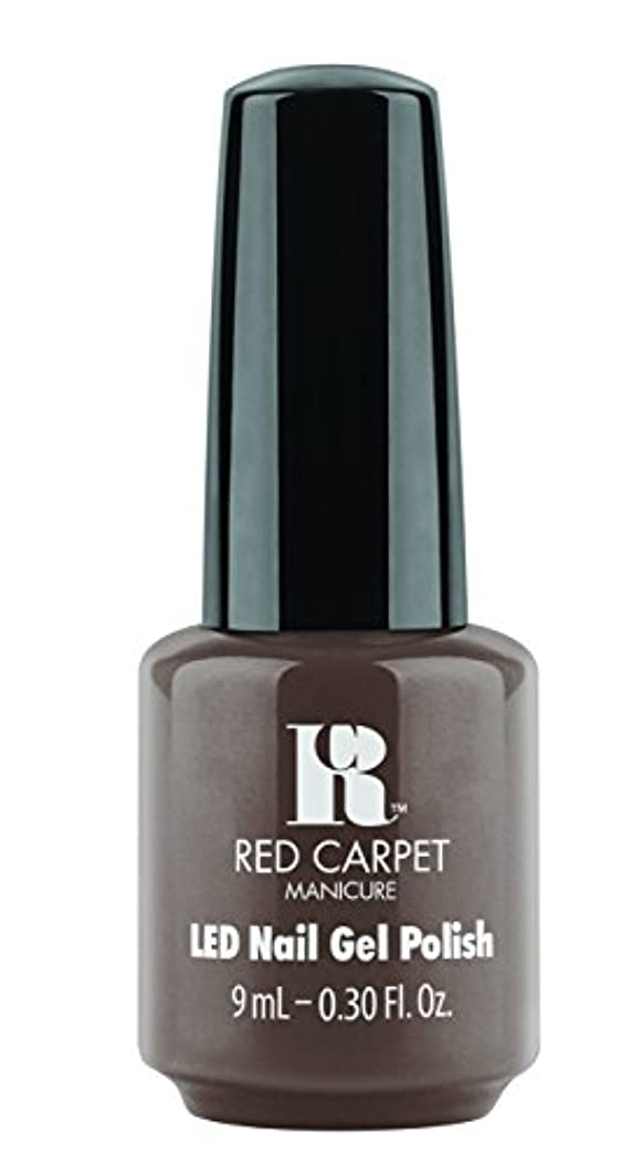 衣服ミンチ取り付けRed Carpet Manicure - LED Nail Gel Polish - Expresso Yourself - 0.3oz / 9ml