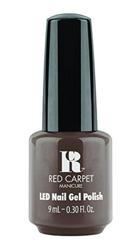 体現するベンチャーコンプリートRed Carpet Manicure - LED Nail Gel Polish - Expresso Yourself - 0.3oz / 9ml