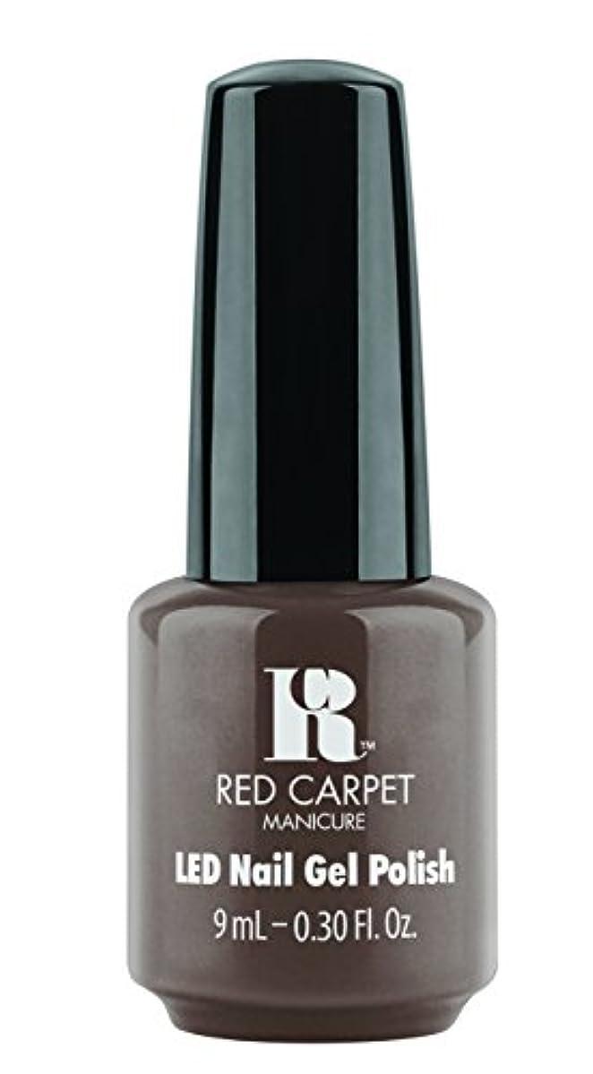 告白するファーム小道Red Carpet Manicure - LED Nail Gel Polish - Expresso Yourself - 0.3oz / 9ml