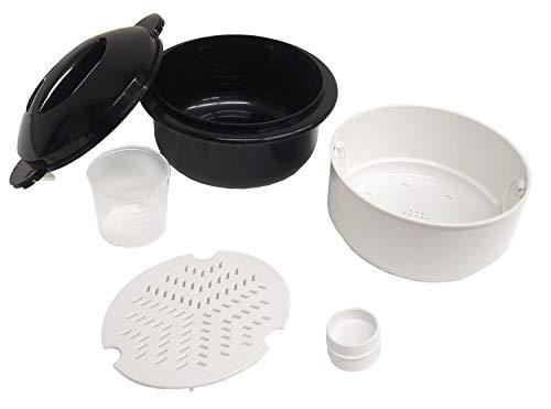 富士パックス販売 電子レンジ調理用品 圧力弁でおいしく炊ける 電子レンジ用炊飯器