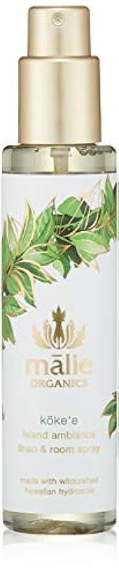 利得続ける起業家Malie Organics(マリエオーガニクス) リネン&ルームスプレー コケエ 148ml