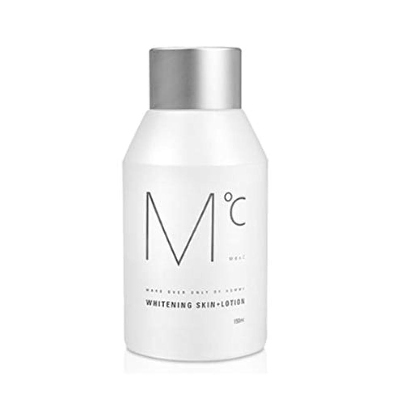 明らかにする攻撃水没MDOC Whitening Skin+Lotion 化粧水+ローションオールインワン保湿メンズスキンケア(海外直送)