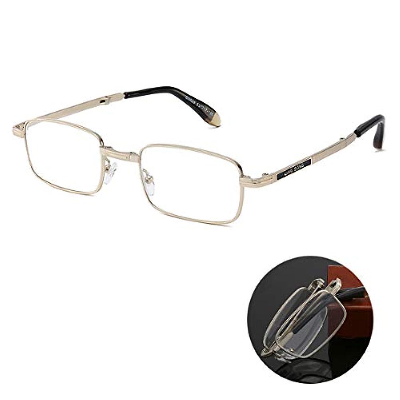以内にゾーンにんじん折りたたみ老眼鏡、ポータブルHdレンズ遠視、時代を超越した外観、クリスタルクリアなビジョン、優れた合金素材、男性と女性用