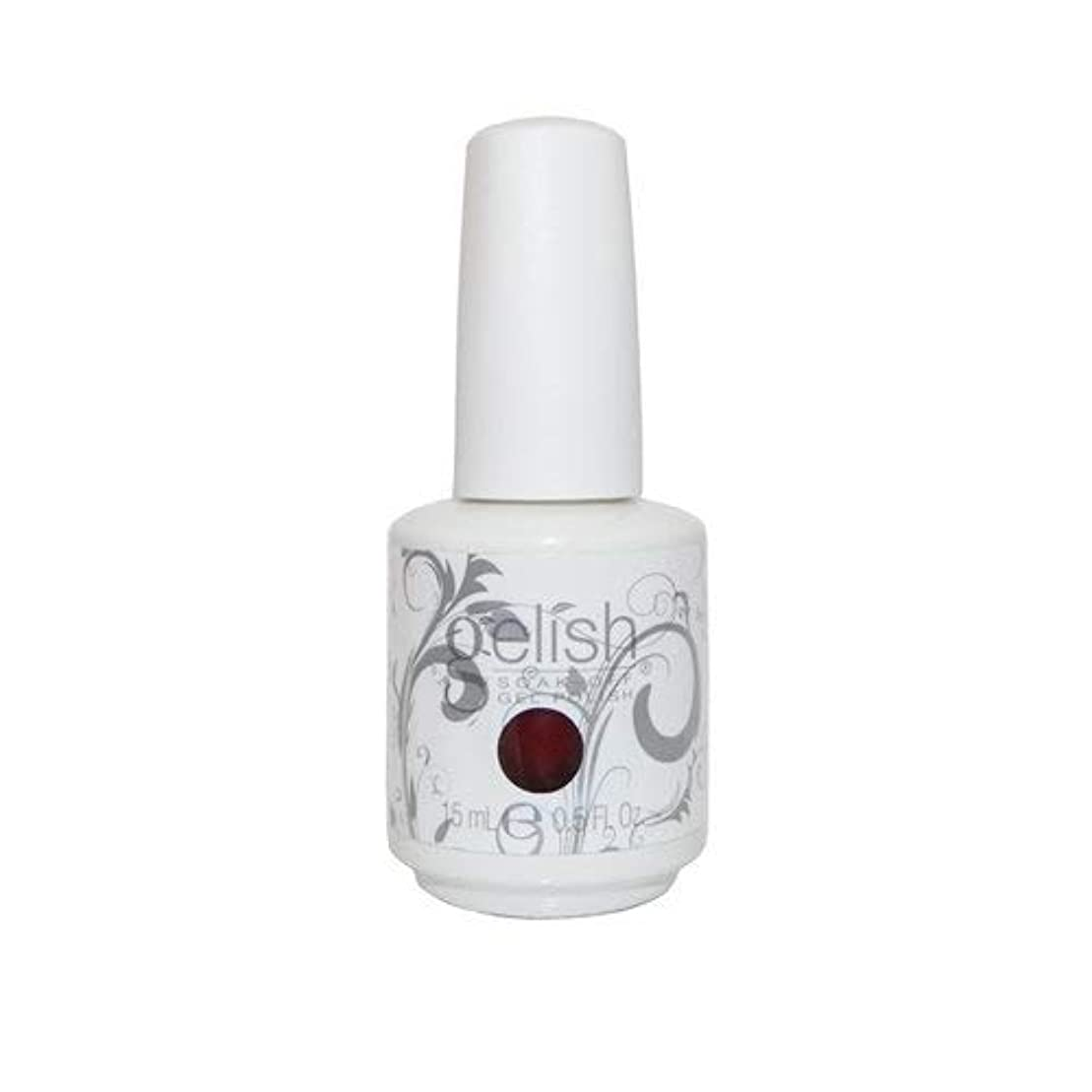透明に瞳体細胞Harmony Gelish Gel Polish - What's Your Poinsettia? - 0.5oz / 15ml