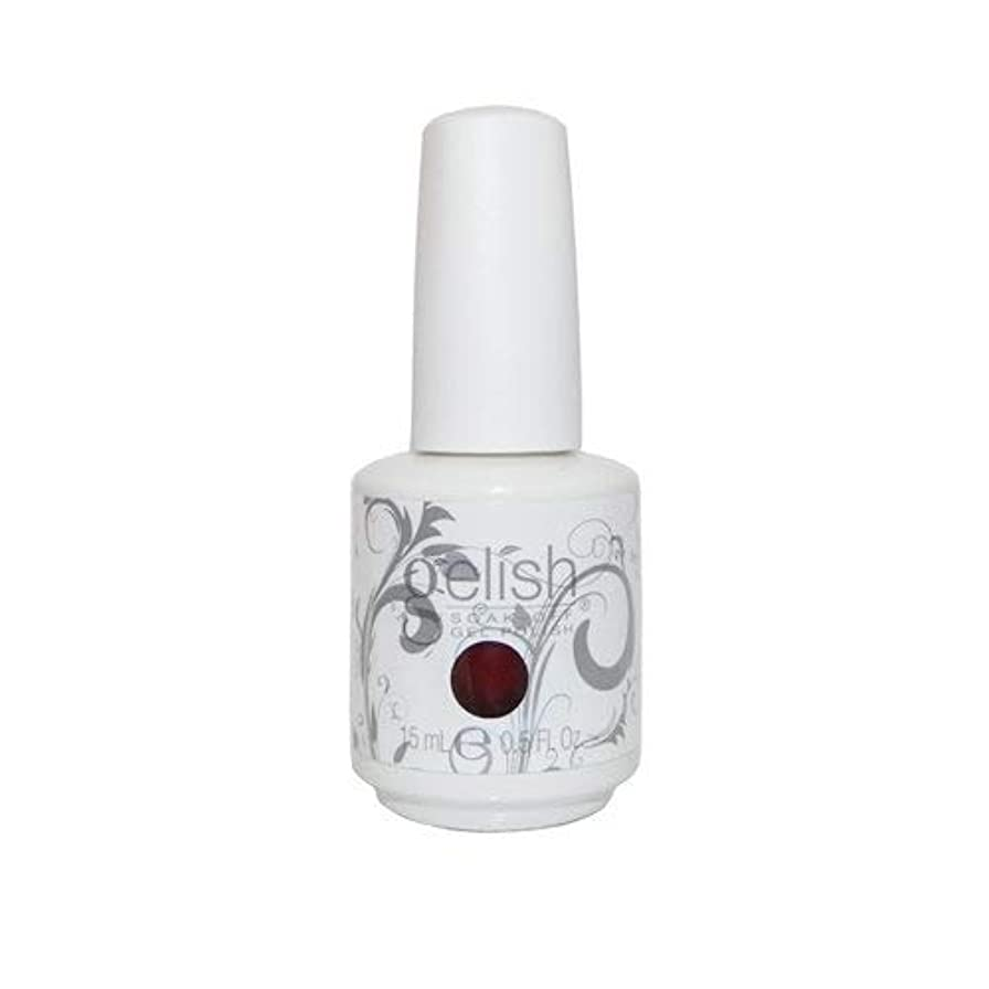 レンジ川尊敬するHarmony Gelish Gel Polish - What's Your Poinsettia? - 0.5oz / 15ml