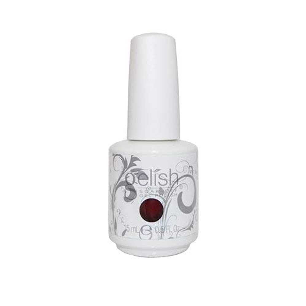天皇予測する脱獄Harmony Gelish Gel Polish - What's Your Poinsettia? - 0.5oz / 15ml