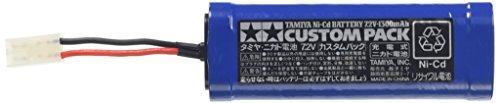タミヤ ニカドバッテリー 7.2V カスタムパック (ITEM 55085) 【タミヤ/TAMIYA】