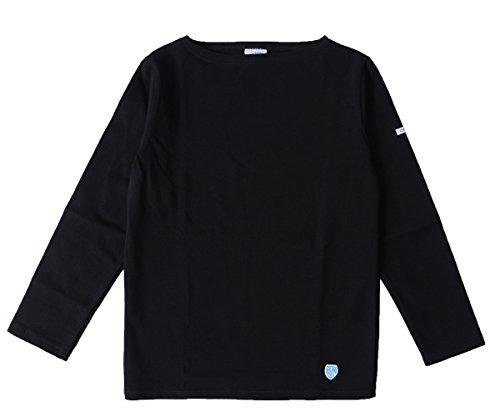 (オーシバル/オーチバル) ORCIVAL bee emblem コットンロード バスクシャツ ・b211(1(Women's M))(black solid)