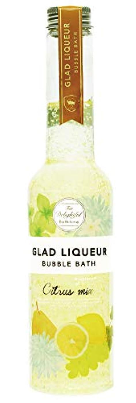 然とした水曜日スペルノルコーポレーション 入浴剤 バブルバス グラッドリキュール M 280ml シトラスミックス GLR-1-1