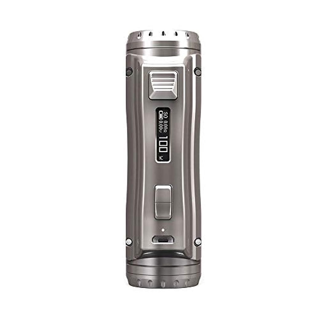 試みジェスチャー幸福正規品 Ehpro Cold Steel 100 120W TC Box MOD ハイエンド 電子タバコ アトマイザー 電子タバコ かっこいい (グレーシャンパン)