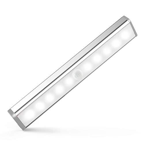 TAKUSAN LEDセンサーライト 室内 手元灯 10 LED 人感センサ...