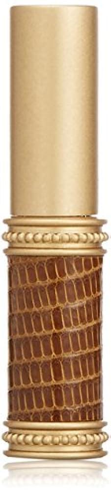 パースチチカカ湖証明するヒロセアトマイザー メタルリザード 28200 BR (メタルリザード ブラウン) リザード本革巻き