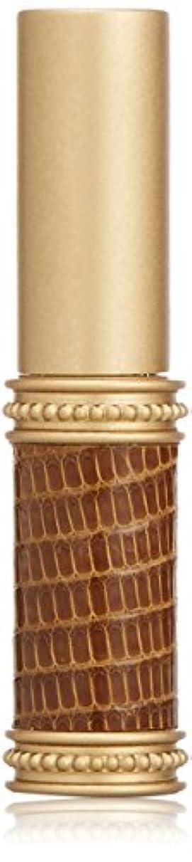 口アボート文房具ヒロセアトマイザー メタルリザード 28200 BR (メタルリザード ブラウン) リザード本革巻き